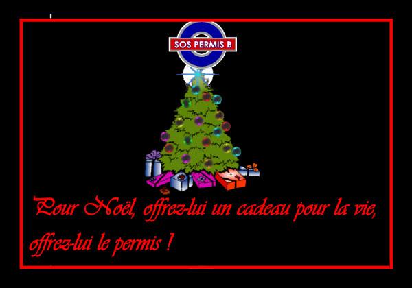 SOS PERMIS B Noel 2014